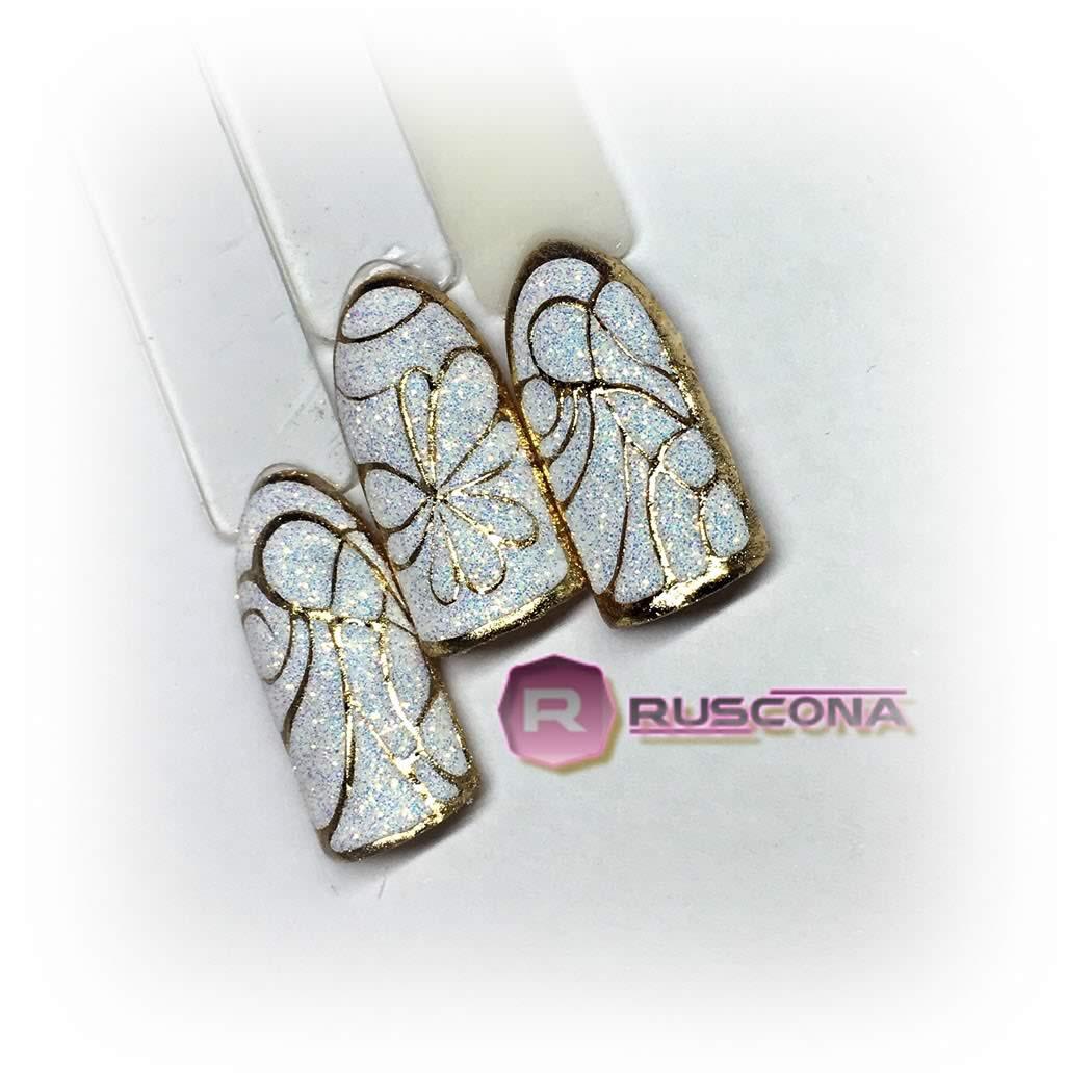 Vianočný sugar effect Ruscona