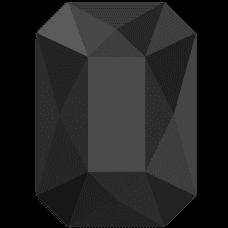EMERALD JET BLACK 8 ks 10 PCS HF