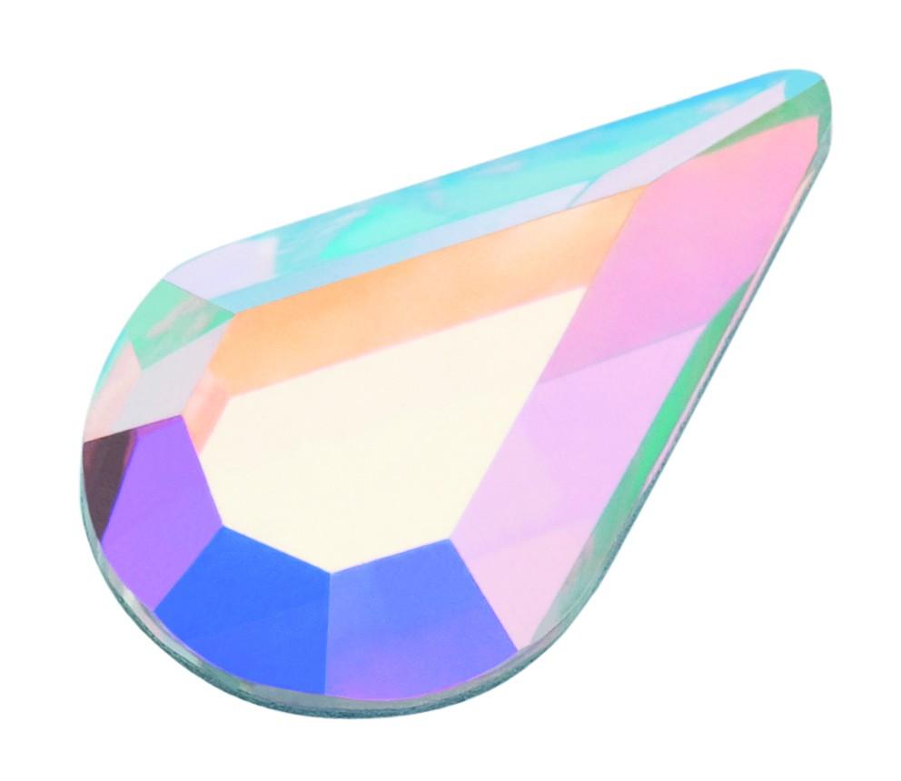 Pearshape Crystal AB 10 ks 8x4