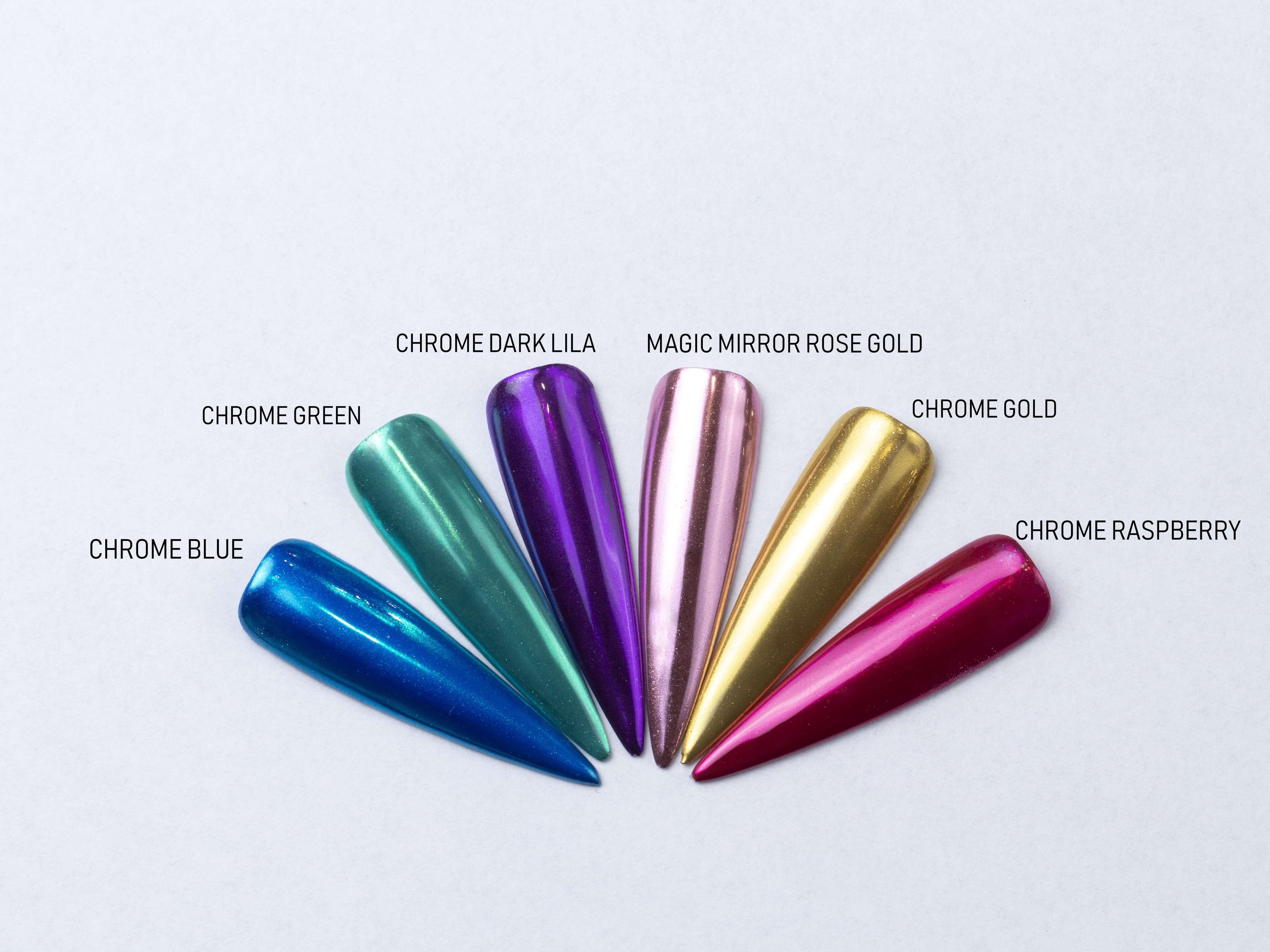 Chrome pigment Gold