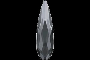 RAINDROP SILVER NIGHT  6 mm 10 ks