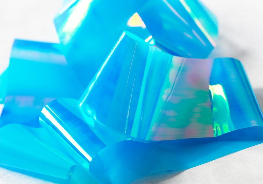 Mirror Foil Blue