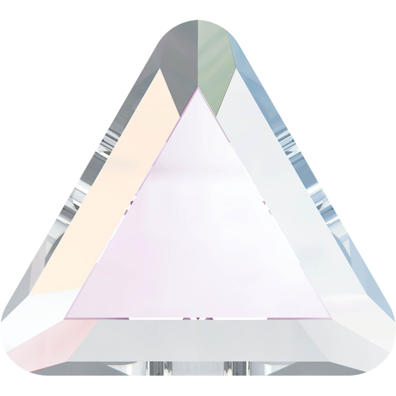 Triangle Crystal AB 3.3 mm