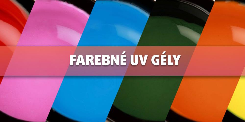 Farebné UV Gély Ruscona